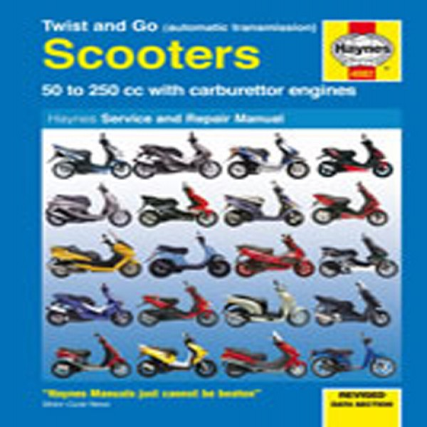 Haynes Manual  4082 Scooters Twist & Go 50Cc To 250Cc