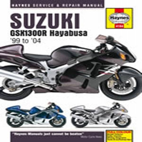 Haynes Manual  4184 Suzuki Gsx1300R Hayabusa 99-04