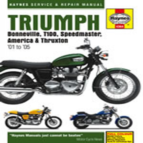 Haynes Manual  4364 Triumph Bonnie,t100,speed,thrux 01-12