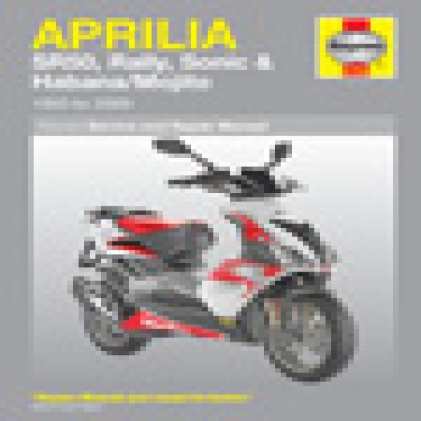 Haynes Manual 4298 Aprillia Rs50 (99-06) Rs125 (93-06)