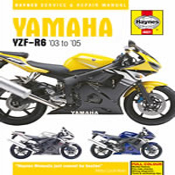 Haynes Manual 4601 Yam Yzf-R6 03-05