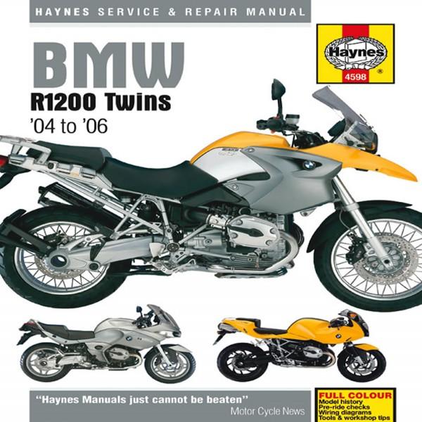 Haynes Manual 4598 Bmw R1200 04-09
