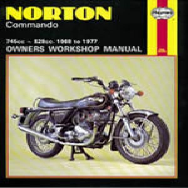 Haynes Manual 125 Norton Commando 68-77