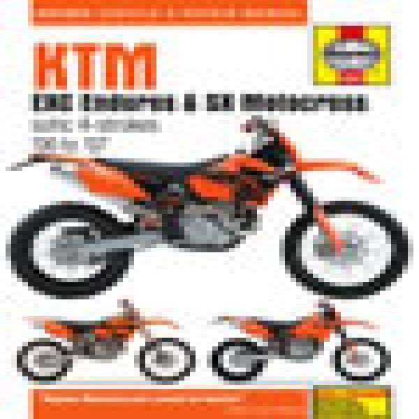 Haynes Manual 4629 Ktm Exc Enduro & Sx Motocross 00-07