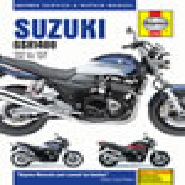 Haynes Manual 4758 Suzuki Gsx1400 02-07