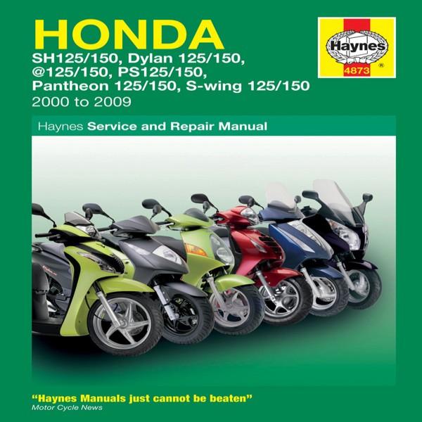 Haynes Manual 4873 Honda 125 Scooters (00-09)