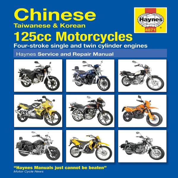 Haynes Manual 4871 Chinese, Taiw. & Korean 125Cc M/c