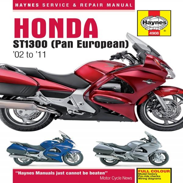 Haynes Manual 4908 Hon St 1300 Pan European 02-11