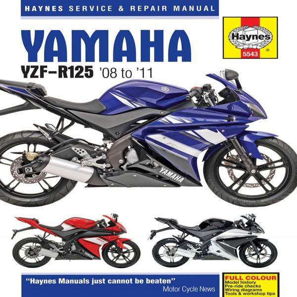 Haynes Manual 5543 Yamaha Yzf-R125 (08-11)