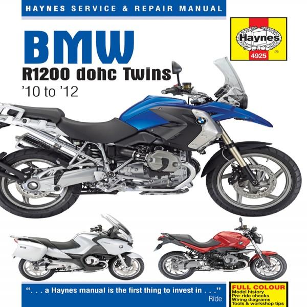 Haynes Manual 4925 Bmw R1200 Dohc (10-12)