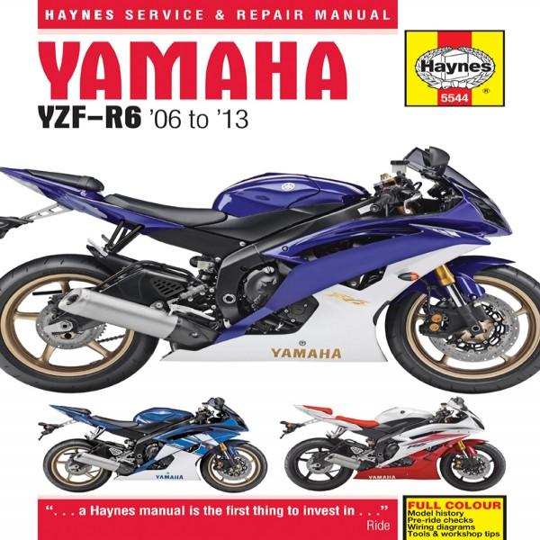 Haynes Manual 5544 Yam Yzf-R6 06-13