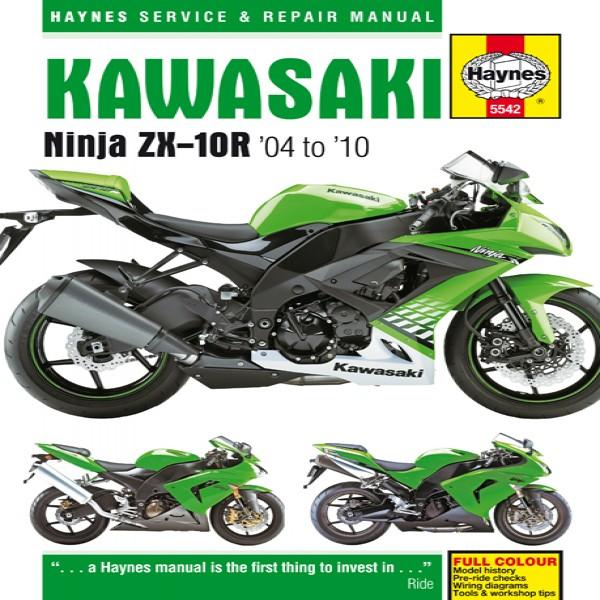 Haynes Manual 5542 Kawasaki Ninja Zx-10R (04-10)
