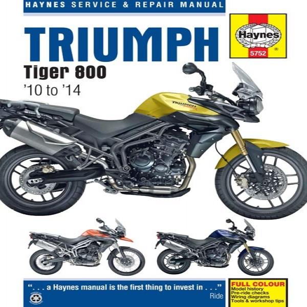 Haynes Manual 5752 Triumph Tiger 800 (10-14)