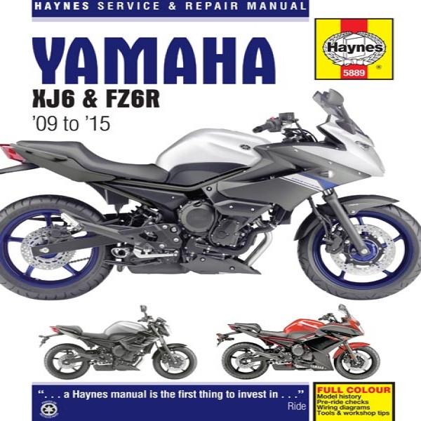Haynes Manual 5889 Yam Xj6 & Fz6R 09-15