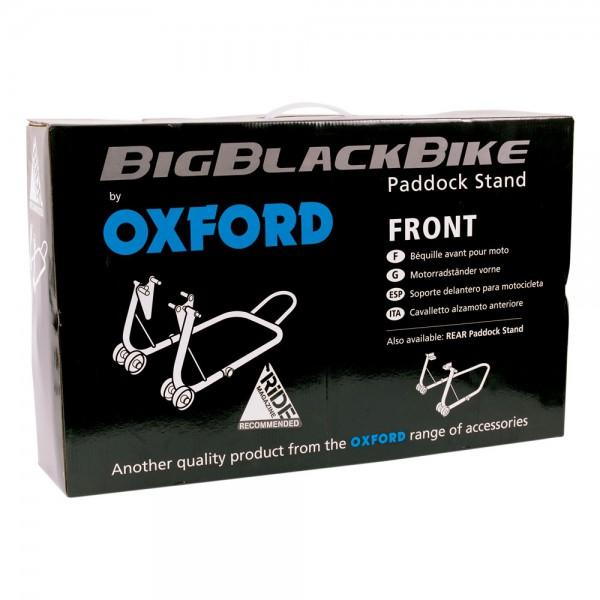 Oxford Big Black Bike Front Paddock Stand