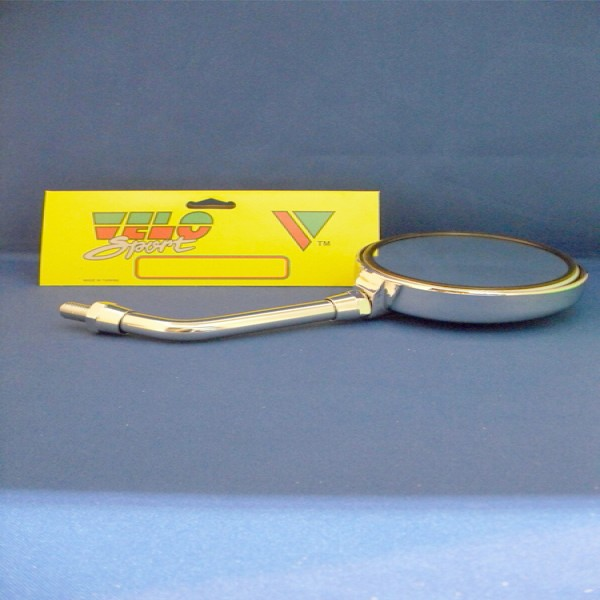 """Velo Sport Mirror Z Style Chrome Short 5"""" [Mir076]"""