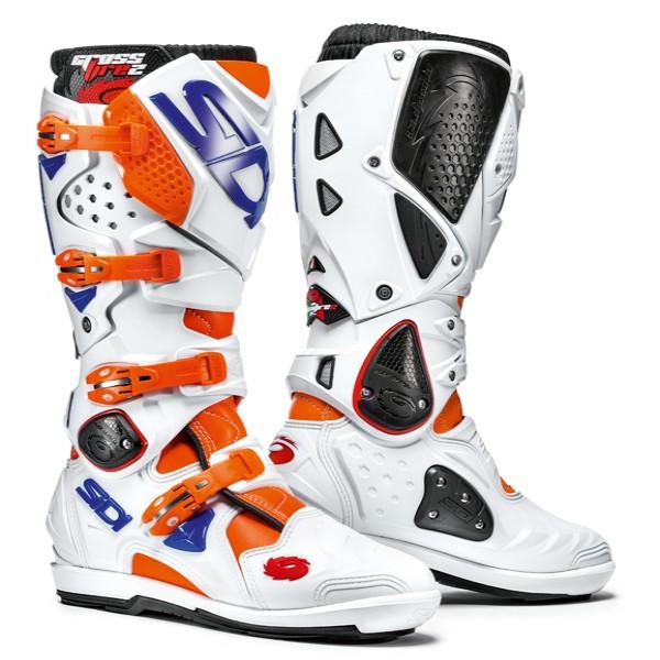 Sidi Crossfire 2 Srs Orange Fluo & White