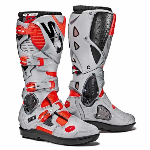 Sidi Crossfire 3 Srs Red Flo/ash