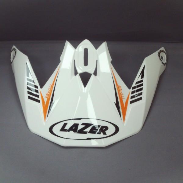 Lazer Peak Mx8 Carbon Tech White/orange