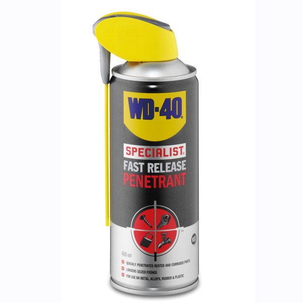 Wd-40 Rust Release Penetrant Spray 400Ml Aero 44362 Single