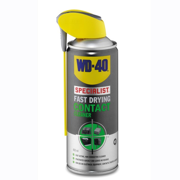 Wd-40 Electrical Contact Cleaner Spray 400Ml Aero 44376