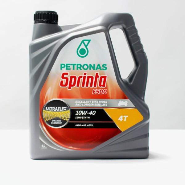 Petronas Sprinta F500 4 Stroke Oil10W40 4Ltr Bottle