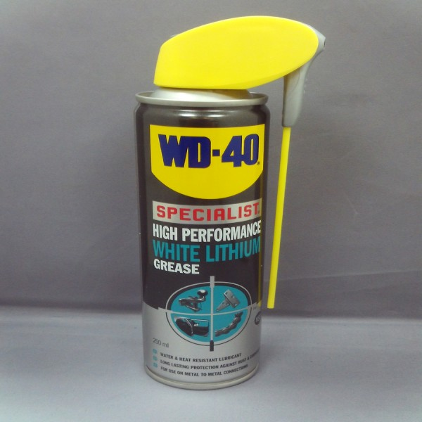Wd-40 White Lithium Grease Spray (250Ml) Single