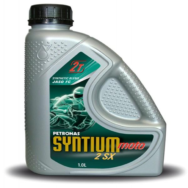 Petronas Syntium 2 Sx 2 Stroke Oil Bottle