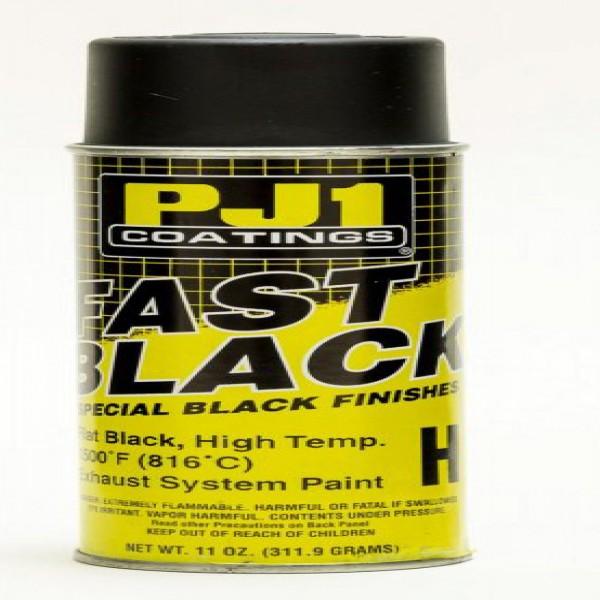 Pj1 Paints 16-Hit Fast Black Hi-Temp Exhaust-400Ml BOX Of 6