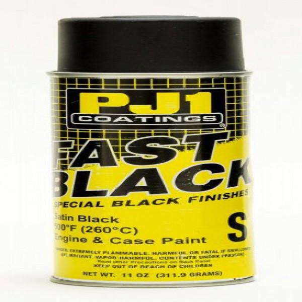 Pj1 Paints 16-Sat Fast Black Satin 400Ml-BOX Of 6