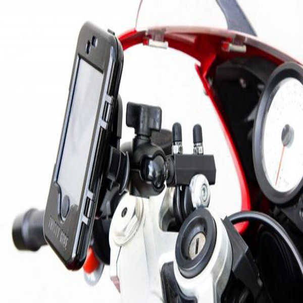 Twisty Ride Iphone 3G/4/4S Case Motorcycles-Universal Mount