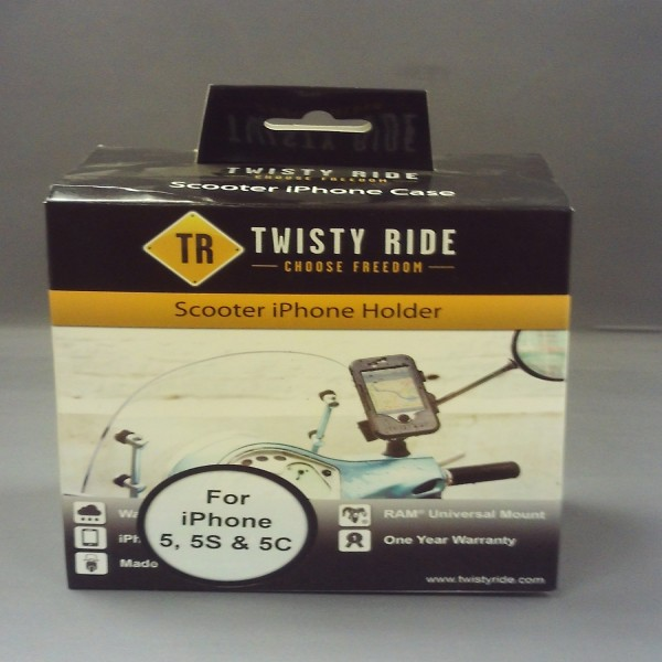 Twisty Ride Iphone 5/5S/5C Mirror/scooter Mount 11Mm