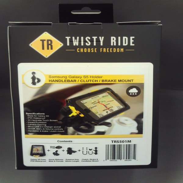 Twisty Ride Samsung S5 Motorcycle-Universal Mount