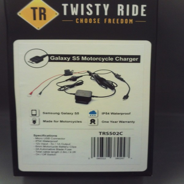 Twisty Ride Samsung S5 Charger (Motorcycle & Scooter)