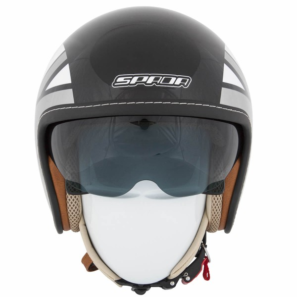 Spada Helmet Raze Empire Black & Silver & Grey