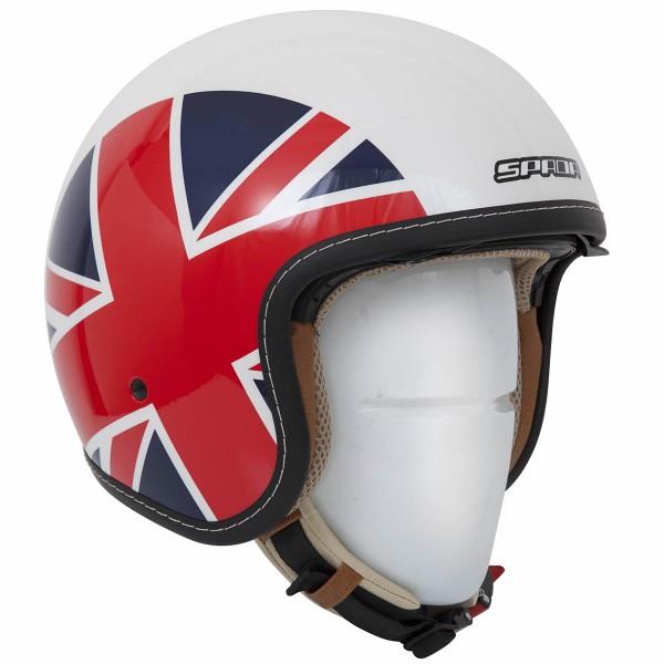 Spada Helmet Raze Empire White & Red & Blue