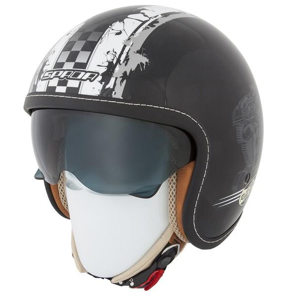 Spada Helmet Raze Revolution Black & Grey