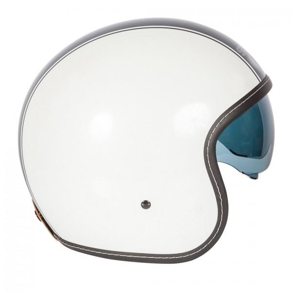 Spada Helmet Raze Kromatik Matt White & Black