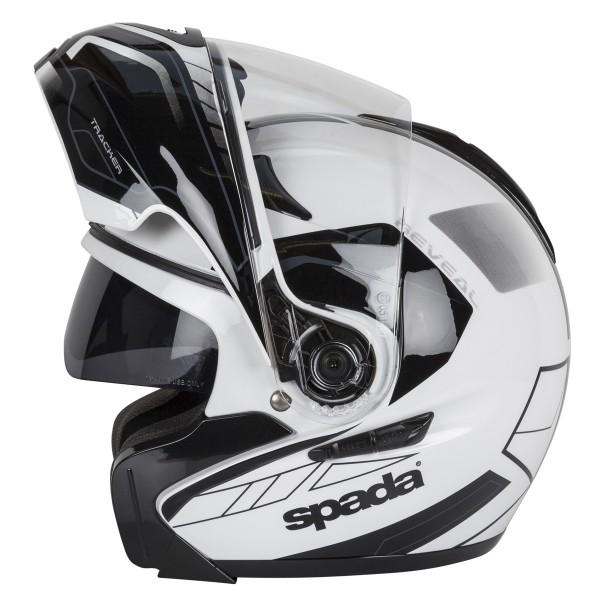 Spada Helmet Reveal Tracker White & Black