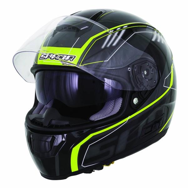 Spada Helmet Sp16 Gradient Black & Fluo