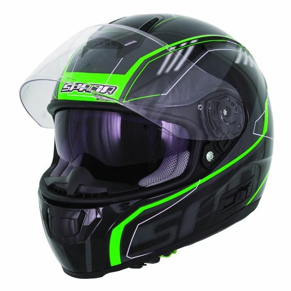 Spada Helmet Sp16 Gradient Black & Green