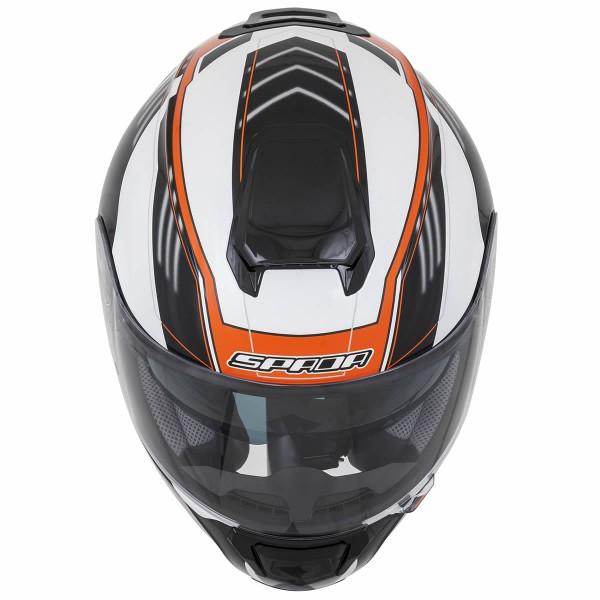 Spada Sp16 Gradient Helmet White & Orange
