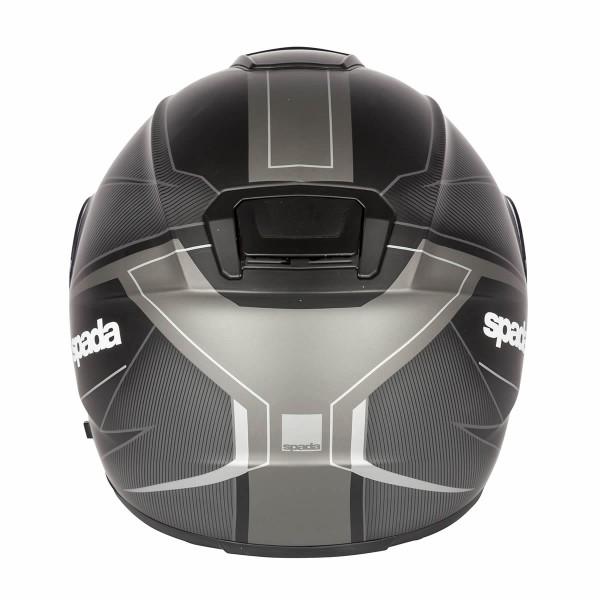 Spada Helmet Sp16 Linear Matt Black & Silver & Anthracite