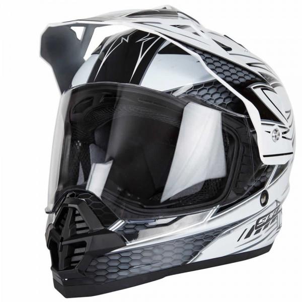 Spada Sting Maverick Helmet White & Black