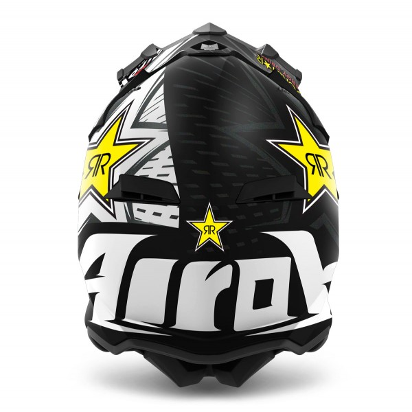 AIROH Terminator Open Vision Rockstar Black Special