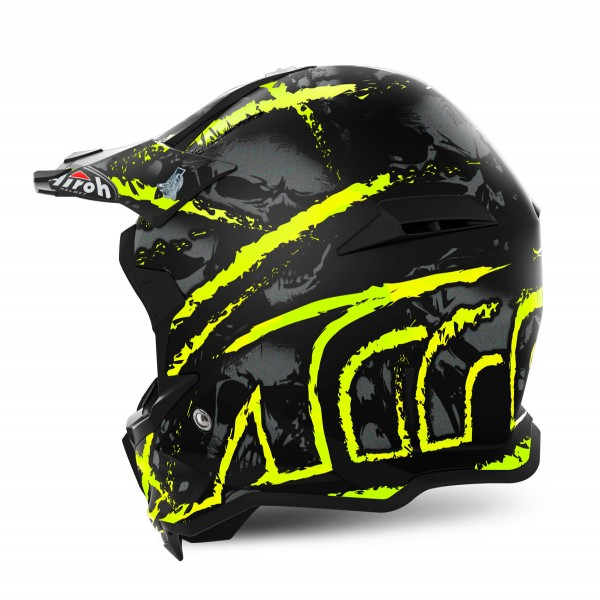 AIROH Terminator Open Vision Carnage Yellow