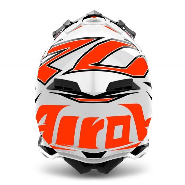 AIROH Terminator Open Vision Shock Orange Special