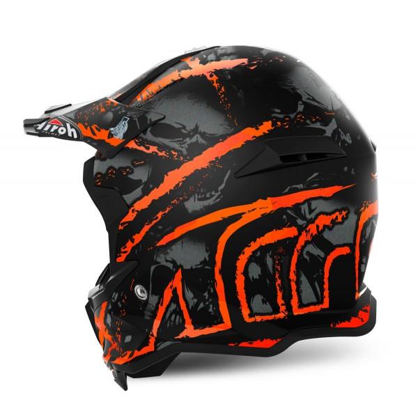 AIROH Terminator Open Vision Carnage Orange Xxl Special