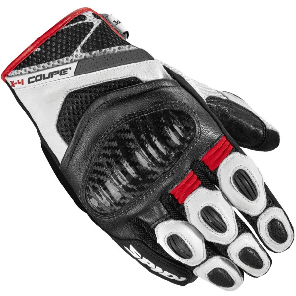 Spidi Gb X4 Coupe Gloves Black & Red