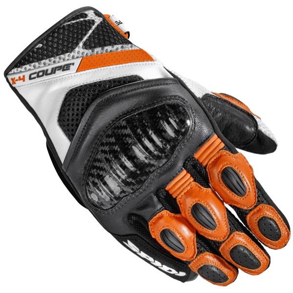 Spidi Gb X4 Coupe Gloves Black Orange
